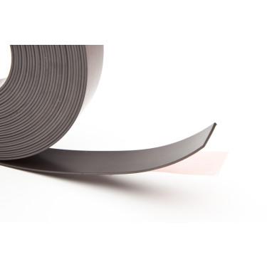 Selbstklebendes Magnetband 25,4 mm, 1 Meter