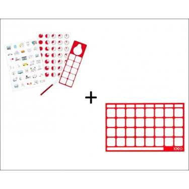Vorteilspackung Magnetic Pictogram Kit + Board