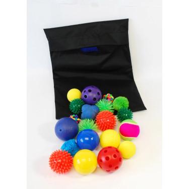 Sensorik-Bälle-Set im Beutel