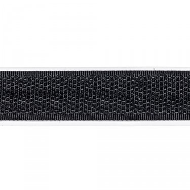 selbstklebendes Klettband, 16 mm, schw, Hakenseite