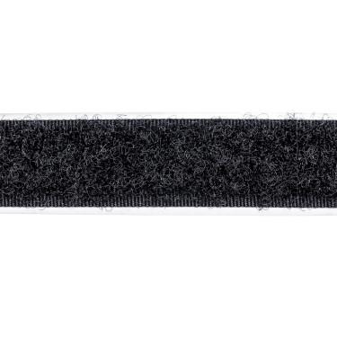 selbstklebendes Klettband, 16 mm, schw, Flauschseite