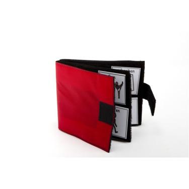 Klettbuch rot