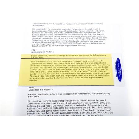 leesliniaal model 2 geel