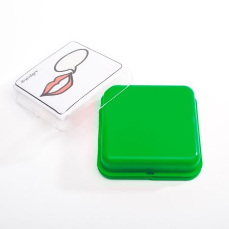 Sprechbox grün