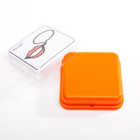 Sprechbox orange