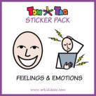 TomTag Aufkleber Gefühlen und Emotionen