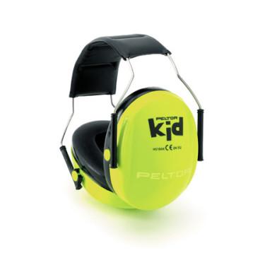 Kindergehörschutz Peltor Kid neon
